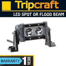 20W LED DRIVING LIGHT BAR Offroad truck Auto Mini Auto 12v Rally LED Auxiliary, camping bar