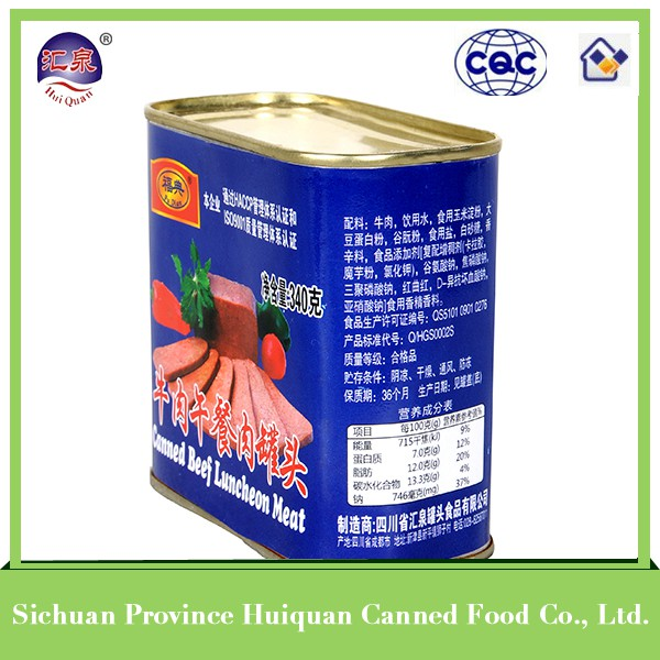 wholesale from china canned food corned beef halal meat wholesale