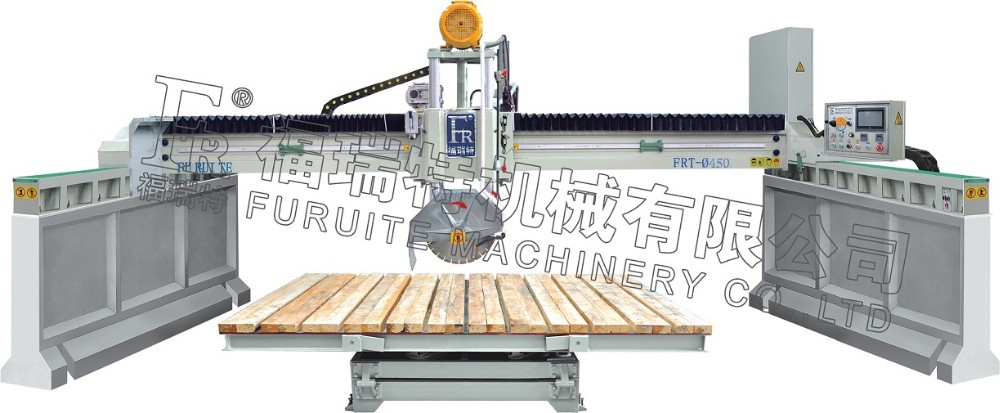 granite marble stone slab tile automatic bridge cutting machine