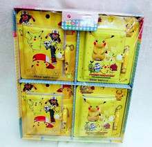 Pokemon Stationery Set Notebook With Ballpoint pen gift For Kids