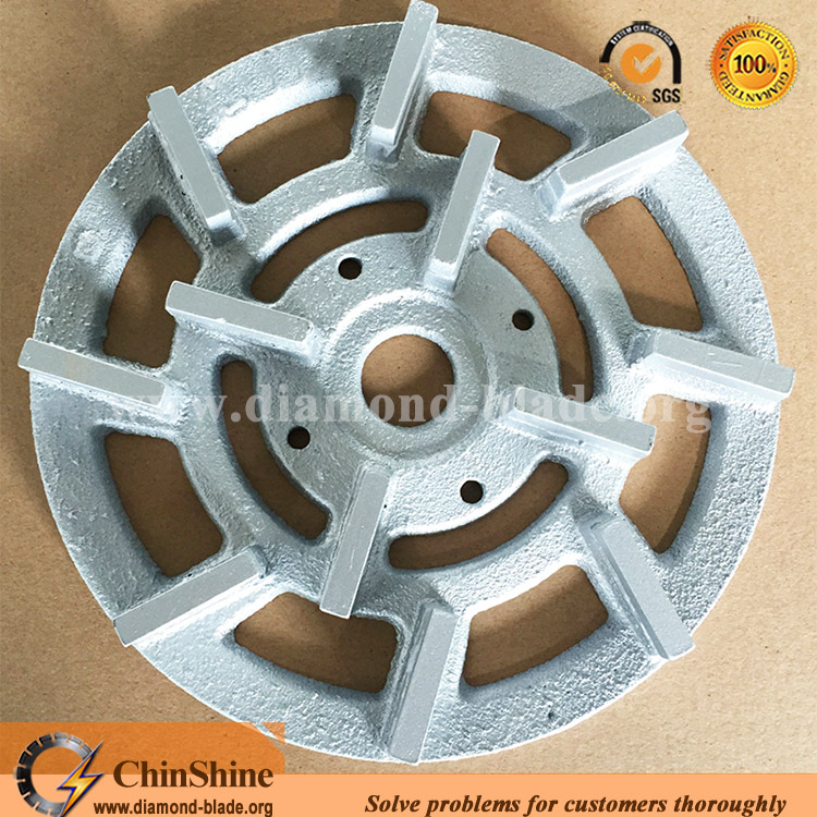 200mm, 250mm metal bonded diamond grinding plate, disc for granite with cheap price
