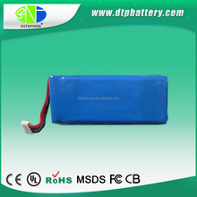 Hot sale rechargeable 1200mah 2000mah 2600mah 7.4v li-ion battery pack