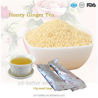Ginger tea with honey '18gx20sachets/box' honey ginger tea with brown suagr