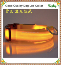 2017 Best selling LED Pet Dog Collar Night Safety Flashing Glow Electric Product For Dogs