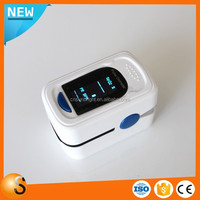 Health Care CE OLED Portable Home Use Finger Pulse Oximeter