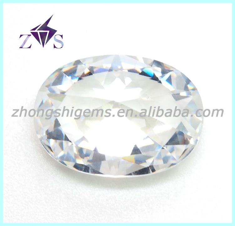 Cushion Shape White Color Synthetic Cubic Zirconia