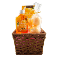 Country House Apricot premium bath gift set