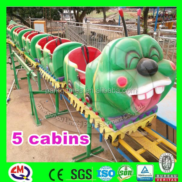 Zhengzhou direct manufacturer adults caterpillar rides