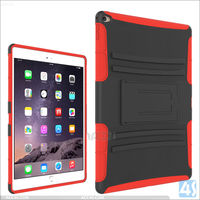 Fashion tablet pc protective case for ipad pro kickstand stand cover belt clip sliding sleeve case for ipad pro