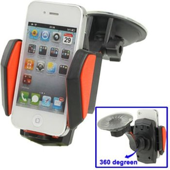 Car Universal Multi-Direction Holder for iPhone 4 / 4S/ Mobile// PDA/ GPS/ MP4,Width:5-13cm