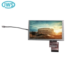 Great quality 6.2 inch flexible tft lcd display screen with rgb interface