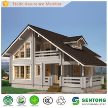 2015 New Extraordinary Prefabricated Wooden House STK022