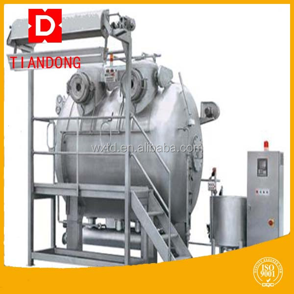 Hot sale wool and textile dying machine with engineers overseas service in factory