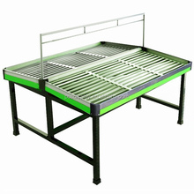 Folding supermarket vegetable and fruit promotion retail display table