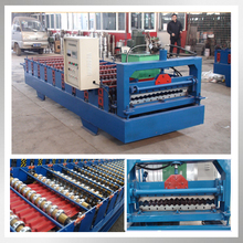 CE&ISO manufacturer frp corrugated wall sheet making roll forming machine