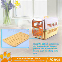 Dog bjorn carrier/plastic dog crate folding