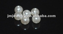 wholesale acrylic round 5mm white pearl beads plastic decoration pearls imitation pearls for necklace jewelry