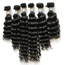 Hot style deep wave human hair bundles wholesale price malaysian hair weft high quality natural color human hair