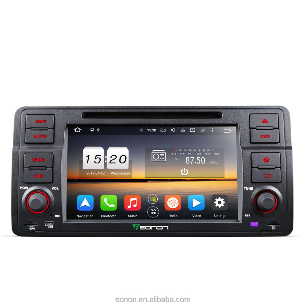 EONON GA7150A for BMW E46 Android 6.0 Octa-Core 7 inch Multimedia Car DVD GPS with Mutual Control EasyConnection