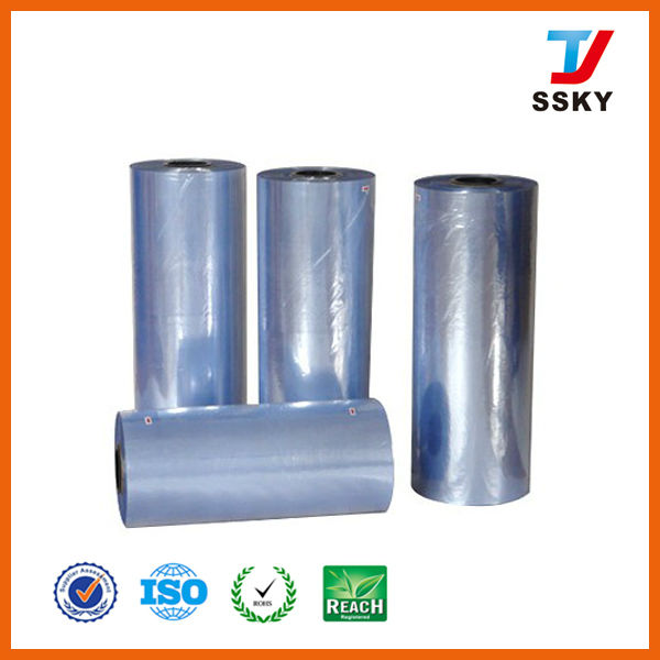 Normal Clear Soft PVC Film In Roll