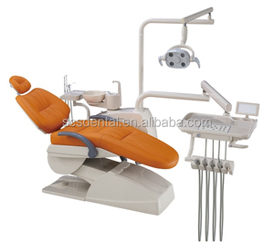 ORT-350 Dental chair price ceramic spittoon imported solenoid valve 3 memories position guarantee