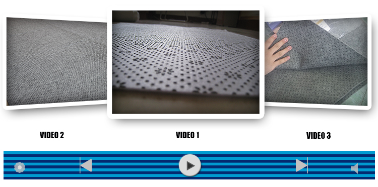 Acoustic Area Flooring Carpet Anti Slip Pad Underlayment