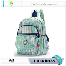 Daily use Polyester school girls backpack colorful personalized shoulder bag for laptop