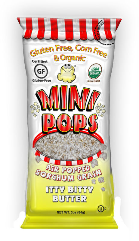 Mini Pops | Popped Sorghum - Itty Bitty Butter