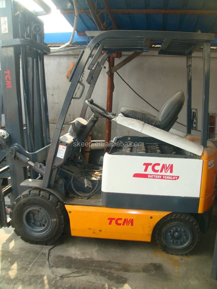 Used Forklift Battery 2 Ton , FB20 TCM Electric Used Forklift , Good Condition