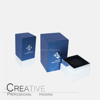 Blue Cardboard Perfume Boxes Packaging For