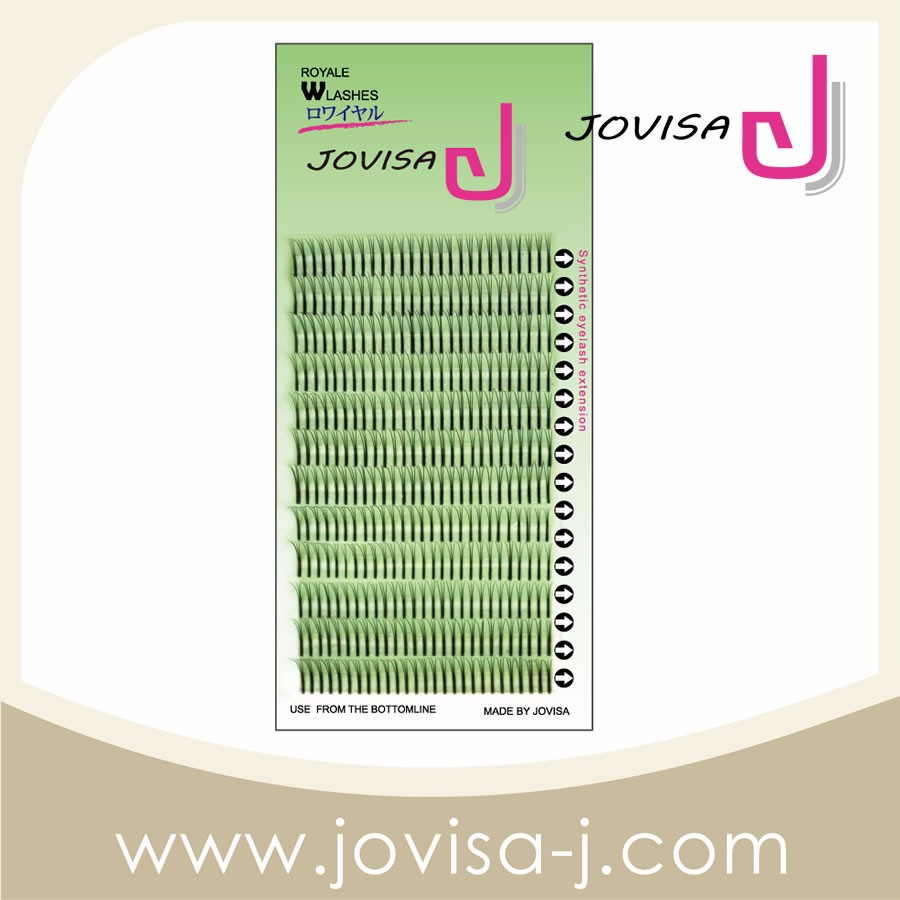 JOVISA Royale W Style Lashes for eyelash extension