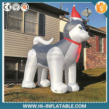 LED light inflatable Christmas bear yard or home decoration,Outdoor Decoration christmas inflatables polar bear
