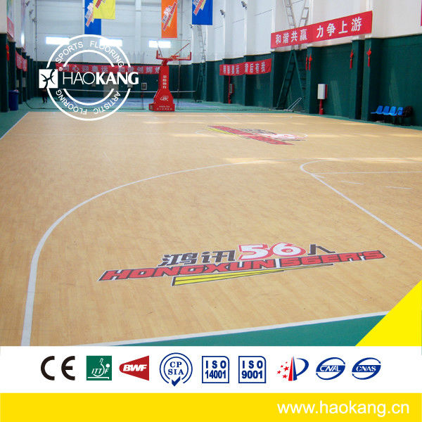 Indoor Basketball PVC court Used basketball Flooring for sales