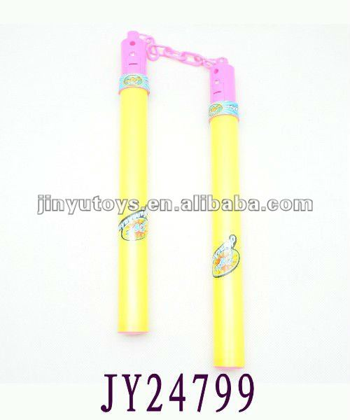 Plastic kung fu nunchakus new kids toys for 2012