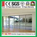 North America Style HB60 series Sliding Door comply with CE certificate from China factory