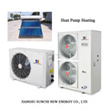-15C cold glycol inlet underground loop heating 120sq meter house 10kw/220V evi tech. brine water water heatpump heater