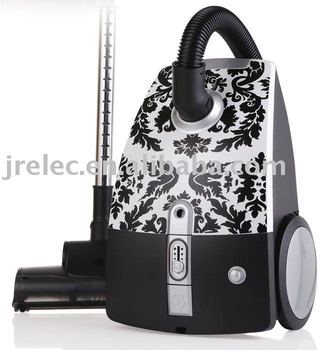 Vacuum Cleaner With Flower Patern