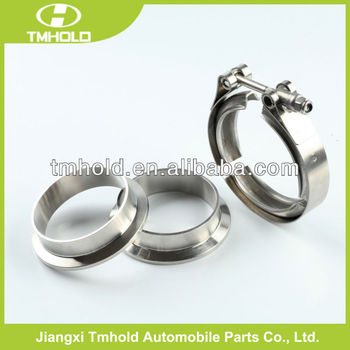 High performed automotive exhaust muffler V band pipe clamp
