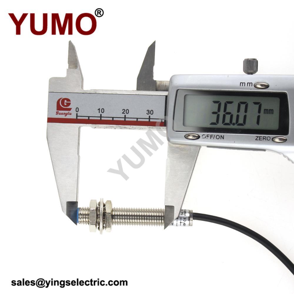 Yumo Lm8 3001pa Proximity Switch Optical Inductive Sensor China Electronic And India Exhibition2016