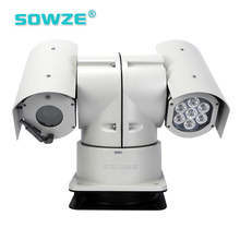 2.1MP HD IP PTZ Infrared 30X Optical Zoom Cctv Camera For Police Car