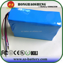 UK/ USA popular can be customize 13s 4p/ 8p li-ion battery 48v 20a electric scooter battery