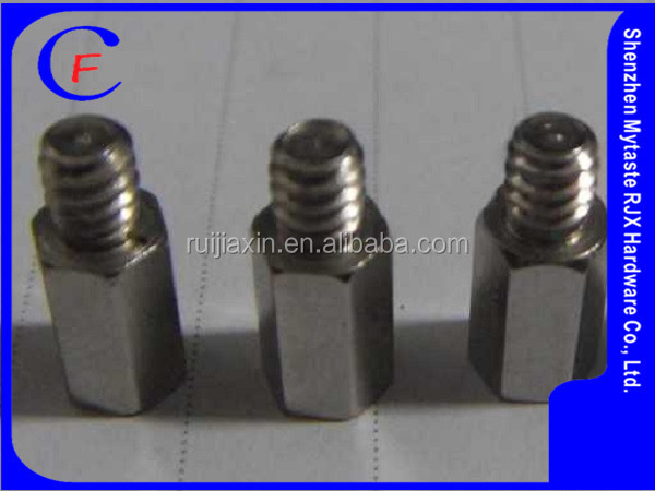 Customized/hexagon male and female decorative screws and nuts