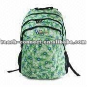 Fashion printed yong teens leisure school bag