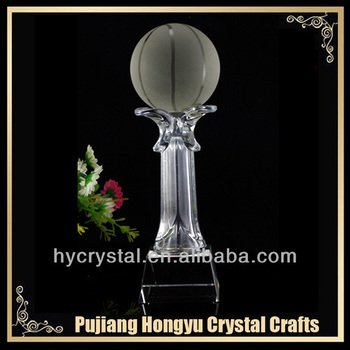 wholesale handmade crystal ball awards and trophies
