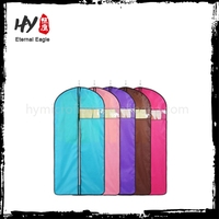 Soft cheap non-woven garment bag, recycled nonwoven garment bag, cloth garment bag wholesale