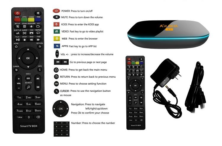 ILEPO 모델 2 그램 ram bt4.0 jalva tv 상자