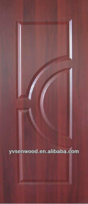 pvc faced MDF cheap hollow core doors