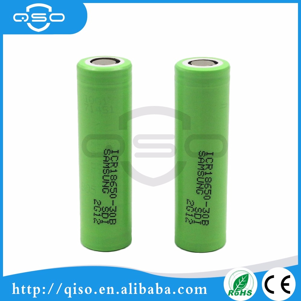 wholesale original 3000mah 3.7v 4.2v samsung 30b rechargeable li-ion battery for digital Cameras