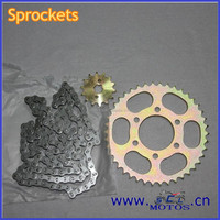 SCL-2014080013 100CC Boxer Motorcycle Chain And Sprocket Sets