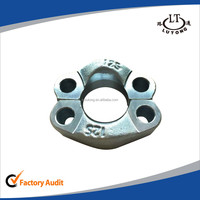 swaged hydraulic pipe fittings zinc plate high pressure S 6000PSI SAE SPLIT FLANGE CLAMP